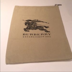 Burberry Dust Cover New